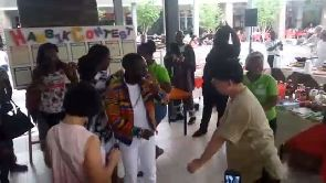 Watch Koreans dance to Okyeame Kwame's performance at Hansik Contest