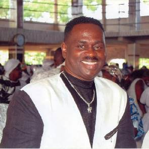 Yaw Sarpong breaks down as he narrates how God saved him