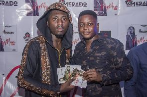 Hundreds of fans attend Amerado's Rapmare EP launch