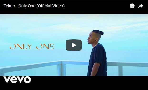 Video : Tekno – Only One