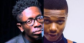 Shatta Wale wishes his 'Wizkid fans' a merry Christmas
