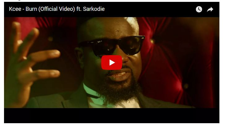 Kcee – Burn ft. Sarkodie (Official Video)