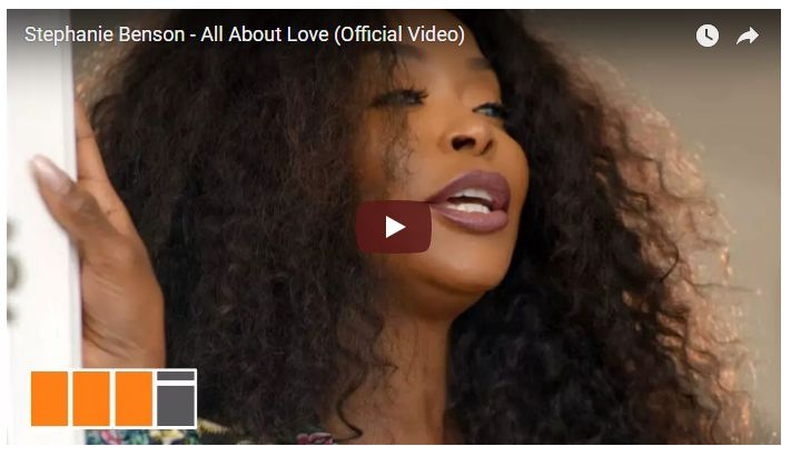 Stephanie Benson – All About Love (Official Video)