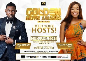 A.Y, Joselyn Dumas set to host 4th Edition of Golden Movie Awards
