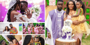 """Words Can't Describe How Happy I Am""– Tracy Sarkcess On Her Marriage To Sarkodie Plus More Photos From The Wedding"