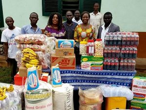 Legendary Amakye dede donates to Mampong Babies home