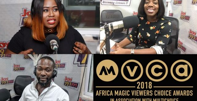 Shirley Frimpong Manso, Adjetey Annan and Lydia Forson nominated for 2018 AMVCA