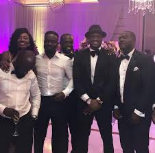 VIDEO: Peter Okoye (Mr P) performs at Sarkodie's wedding