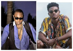 Davido & Kuami Eugene shooting a new music video on the streets of Accra