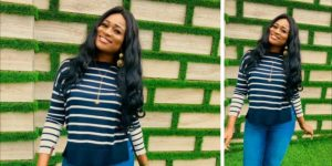 Forget The Nak£d Pictures & Embrace The New Evergreen Christabel Ekeh (+ Photo)