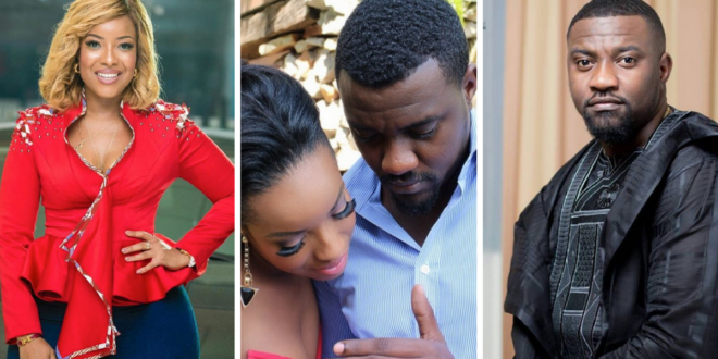 New Video Prove Joselyn Dumas Never Said She Dated John Dumelo;Says She's Disapointed In Abeiku Santana For Editing It (Watch The Real Video)