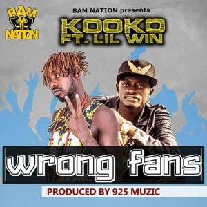 Kooko ft Lil Win – Wrong Fans (Prod by 925 Muzic)