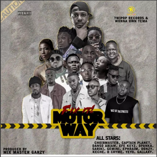 DOWNLOAD MP3: All Stars – Motor Way (Prod By Mix Master Garzy)