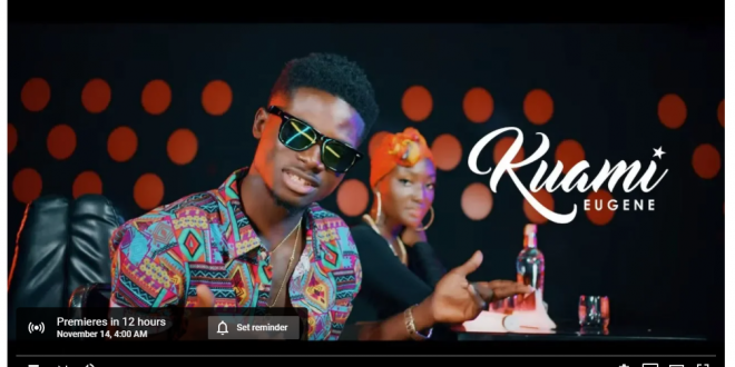 Kuami Eugene - Walaahi Official Video