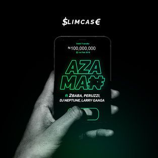 DOWNLOAD MP3: Slimcase Ft 2Baba x Peruzzi x DJ Neptune x Larry Gaaga – Aza Man