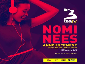 3Music Awards unveils 2019 nominees today