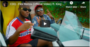 CDQ ft. King Promise - Flex Remix (Official Video)