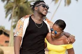 Medikal & Fella Makafui competes each other in an Auto Racing