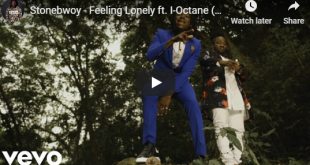 Stonebwoy ft. I-Octane - Feeling Lonely (Official Video)