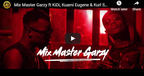 Mix Master Garzy ft KiDi x Kuami Eugene x Kurl Songx – Anadwo Yede (Official Video)