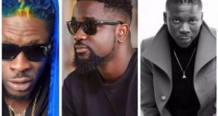 Shatta Wale Mocks Stonebwoy and Sarkodie Over VGMA Nominations