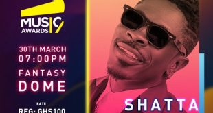 Shatta Wale to open 2019 3Music Awards