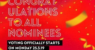 VGMA 2019 voting starts on March 25