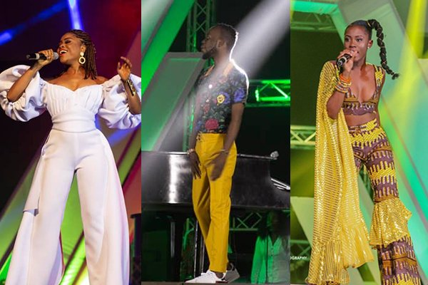 Photos/Videos: Adina, Cina Soul, Akwaboah, others slay performance at 3Music