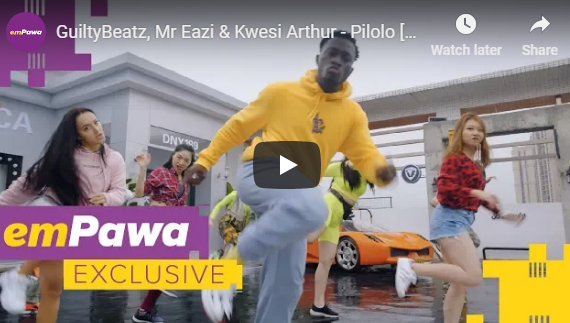 GuiltyBeatz Ft Mr Eazi x Kwesi Arthur – Pilolo [Official Video]