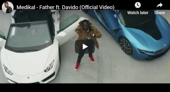 Medikal ft Davido – Father (Official Video)
