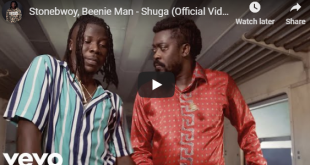 Stonebwoy Ft Beenie Man - Shuga (Official Video)