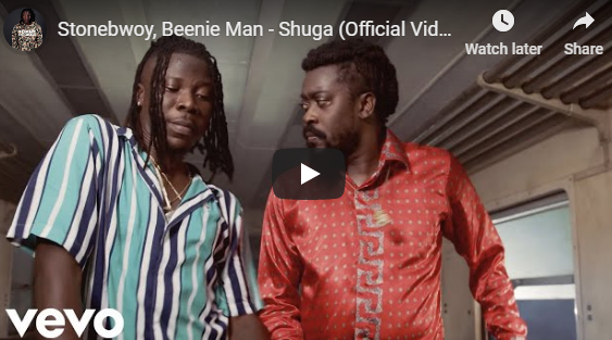 Stonebwoy Ft Beenie Man – Shuga (Official Video)