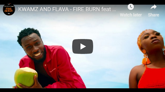 Kwamz And Flava ft Sarkodie – Fire Burn (Official Video)