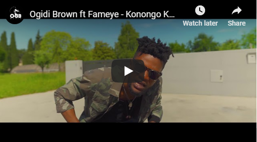 Ogidi Brown ft Fameye – Konongo Kaya (Official Video)