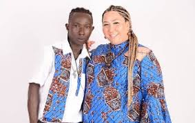 Video: Patapaa looking sad amidst birthday party of his German girlfriend for obvious reasons