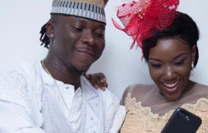 Stonebwoy's wife reveals why she wants no new friends