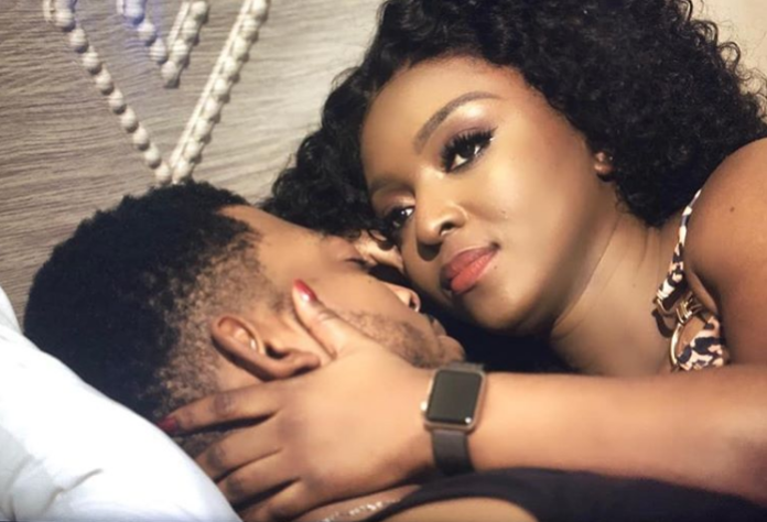 Yvonne Okoro spotted in bed with James Gardiner