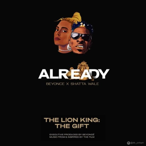 Beyonce ft Shatta Wale x Major Lazer – Already Lyrics