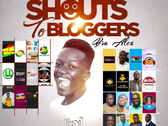 DOWNLOAD MP3: Bra Alex – Shout's Out to Bloggers (Freestyle)