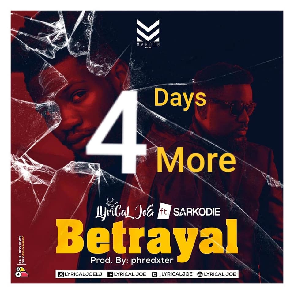 Lyrical Joe ft. Sarkodie – Betrayal (www.Ghanasongs.com)