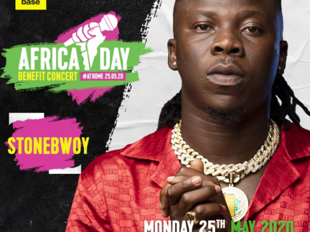 "Stonebwoy, Burna Boy, Manifest, Nasty C and more to perform ""Africa Day Benefit Concert At Home"""