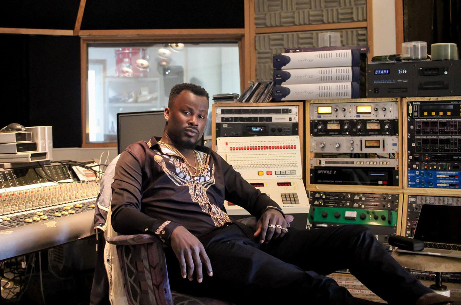 "Mix Master Garzy is one of Ghana's best producers who has gone intercontinental ""A True Musical Legend"""